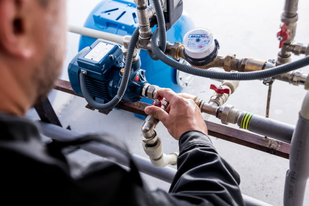 technician-checking-water-system-nodes